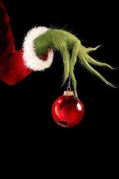 """The Grinch from Dr. Seuss' """"How The Grinch Stole Christmas! The Musical"""" wishes you a Merry Christmas? Grinch Christmas, Christmas Time Is Here, Merry Little Christmas, Christmas Love, Winter Christmas, All Things Christmas, Christmas Crafts, Christmas Decorations, Christmas Images"""