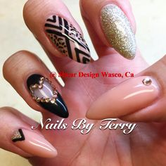 Native space gel nails