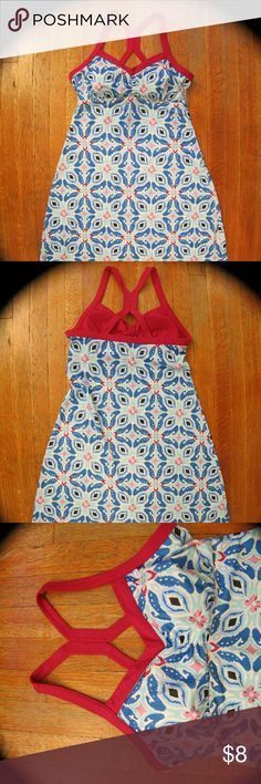 Women's sun dress Geometric print Dresses