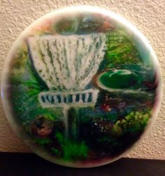 New Limited Edition Disc Golf Scene Discs by HeatherCallihanArt on Etsy https://www.etsy.com/listing/215476332/new-limited-edition-disc-golf-scene