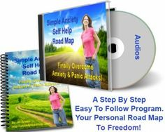 Simple Anxiety Self Help Road Map Audios & Workbook ONLY $19.95