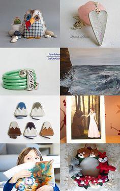 Starlight, Earth and Sea by Emma Wyatt on Etsy--Pinned with TreasuryPin.com