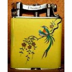 Sterling Silver And Enamel Dunhill Lighter 1933