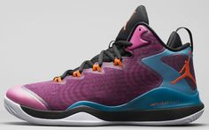 Jordan Super.Fly 3 Black/Fusion Pink-Tropical Teal-Electric Orange Release Date 684933-625