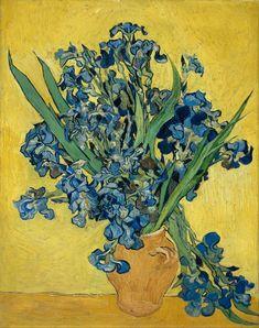 Vincent van Gogh: Irises, 1890