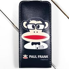 """Apple iPhone 4 Paul Frank Leather Protective Case, protect Surface Against abrasion and Cover Scratch Marks, Dust, Fingerprints and Bumps.  Full access to all ports and """"touch screen"""" while applied."""