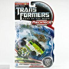 Transformers Dark of the Moon Autobot Ratchet Mechtech Deluxe Class Hasbro MOMC #Hasbro