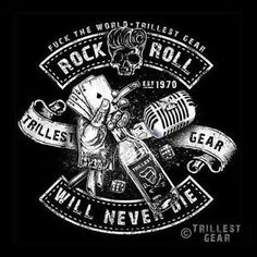 rockabilly kontrabas and music tattoo Rock N Roll Tattoo, Rock And Roll, Rockabilly Art, Rock Shirts, Heavy Metal Music, Rock Design, Arte Pop, Psychobilly, Cool Posters