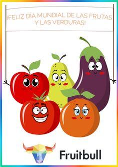 Ayer fue el día mundial de las frutas y las verduras! #Fruitbull #diamundiadelasfrutasyverduras