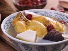 Coconut chicken soup dates