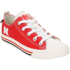 Nebraska Cornhuskers SKICKS Low Top Shoes