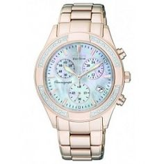 online shopping for Citizen Women's Regent Chronograph Eco-Drive Ladies' Watch from top store. See new offer for Citizen Women's Regent Chronograph Eco-Drive Ladies' Watch Michael Kors Chronograph Watch, Michael Kors Watch, Stainless Steel Watch, Stainless Steel Bracelet, Thing 1, Lady, Bracelet Watch, Jewelry Watches, Rose Gold