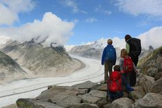 Die Erinnerung schmilzt dahin: ein Besuch am Aletschgletscher