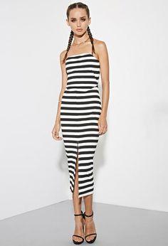 The Fifth Label Delta Strapless Stripe Dress