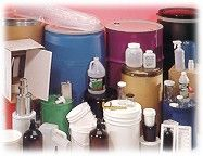 Drums, Barrels, Pails, Buckets, Covers, Caps, Cans, Bottles, Jars, Jugs and Boxes