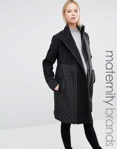 Mama.licious | Mamalicous Smart Tikka Coat at ASOS