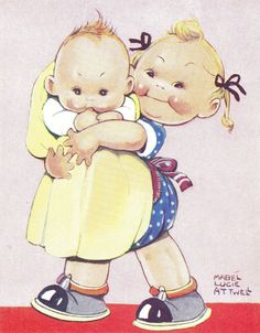 Mabel Lucie Attwell | Little Folks - Illustrations - Vintage | Pinter ...