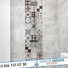 Antalya Fayans Ustası – 2017 Modern Banyo Fayans Döşemeleri: modern tarz Banyo