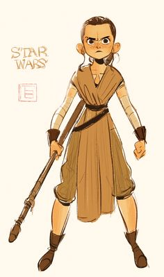 Rey character tb choi star wars