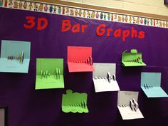 Bar Graph idea - courtesy of Runde's Room! Bar Graphs, Teacher Tools, Teaching Math, Management, Thankful, Classroom, Student, Chart, 3d