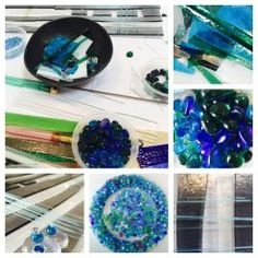 Twice Fired fused glass process
