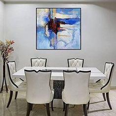 Large Abstract Painting On Canvas Black Art Canvas White Painting Blue Canvas Art Ocean Painting Gray Painting Contemporary Art Painting Oil Painting Abstract, Texture Painting, Acrylic Painting Canvas, Abstract Canvas, Blue Abstract, Painting Art, Green Paintings, Your Paintings, Original Paintings