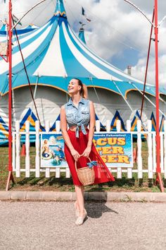 Circus photo ootd fashion outfit summer skirt