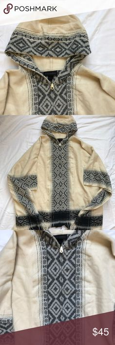 NWT Steve Madden Poncho Very CUTE 4 winter! New with tag Accepting offers. No low ballers or trades. Very cute for fall and winter. Pair with boots and leggings or jeans. Has a full length zipper. Steve Madden Sweaters Shrugs & Ponchos