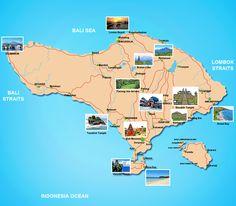 tourist map of bali indonesia | Bali Tour Packages « Sam Bali Car Rental