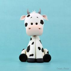 Cow tutorial from Crumb Avenue                                                                                                                                                      More
