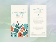 A self initiated project to develop my illustration and branding skills. Love wine too and simplicity in the label designs. This is a WIP of some wine label designs. Full project below: https://ww...