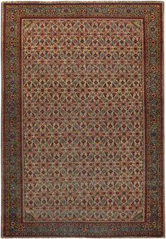 Persian Tabriz Rug - Antique Persian Rug - Antique Rug - BB5073 by Doris Leslie Blau