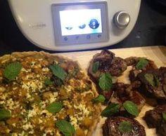 Recipe Pumpkin, Feta and Green Peas Tart by Dorotka - Recipe of category Baking - savoury