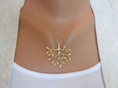 Items similar to Tree Necklace in Gold - gold tree delicate pendant - gold filled fine chain - morganprather on Etsy Cute Jewelry, Jewelry Box, Jewelery, Jewelry Accessories, Jewelry Design, Gold Jewelry, Unique Jewelry, Tree Necklace, Gold Necklace