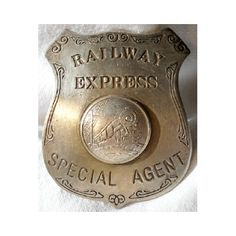top ten old west lawmen | Railway Express Western Railroad Badge
