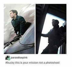 "buckysoul: ""Bucky this is your mission not a photoshoot. """