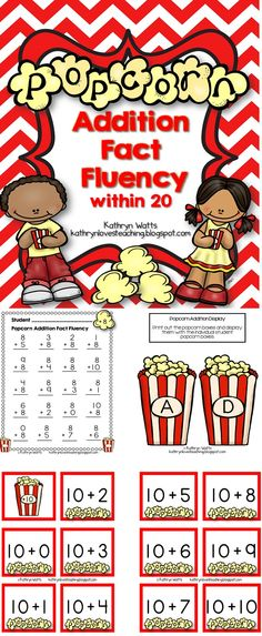 Great for Addition Fact Fluency