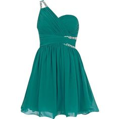 Green Little Mistress asymmetric dress ($39) ❤ liked on Polyvore featuring dresses, vestidos, robes, short dresses, mini dress, green mini dress, sparkly cocktail dresses, blue dress and sparkly dresses