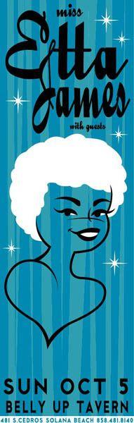 GigPosters.com - Etta James