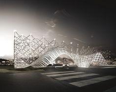Gateway of Shenzhen Southern University of Science and Technology Proposal / penda
