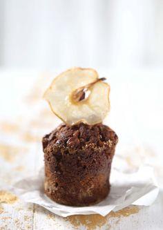 walnut nashi caramel jar cakes