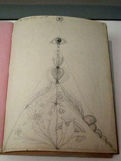 hilma af klint sketchbook