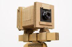 old style cardboard camera Cardboard Camera, Cardboard Model, Cardboard Sculpture, Sculpture Clay, Plate Camera, Box Camera, Theatrical Scenery, Alternative Photography, Photo Equipment