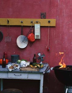 How to master the art of barbecuing zucchini's)