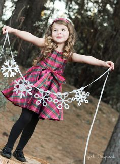 Holiday Photo Tips! photos Holiday Photo Tips with Pattern Anthology - girl.