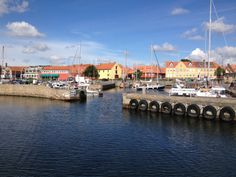 Beautiful quaint harbours #Balticsailing
