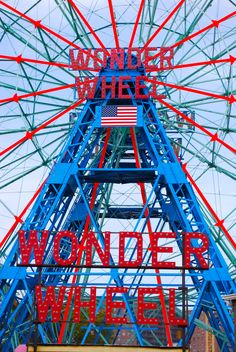 Visit Coney Island for some #beach & #boardwalk time.