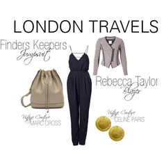 """London Travels"" by shopeluxe on Polyvore"