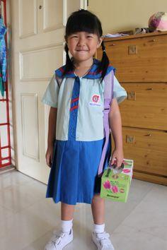 PAP kindergarten uniform present