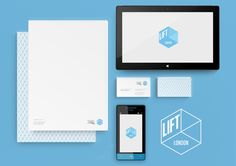 Microsoft Lift London Branding by Alex Townsend, via Behance